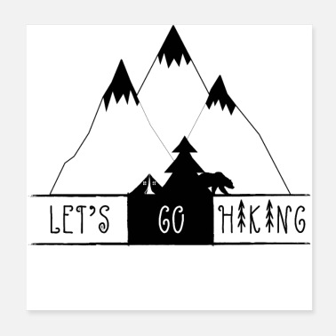 Hike Hiking - Poster