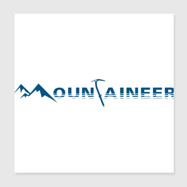 mountaineer - Poster 8x8