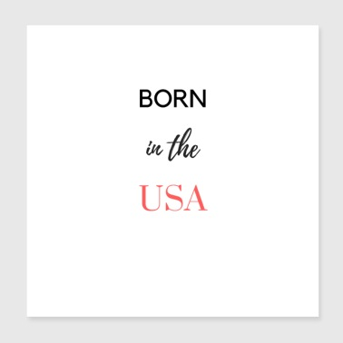 in the usa - Poster 8x8