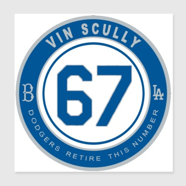 Vin Scully - Poster 8x8