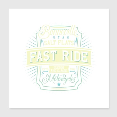 fast ride - Poster 8x8