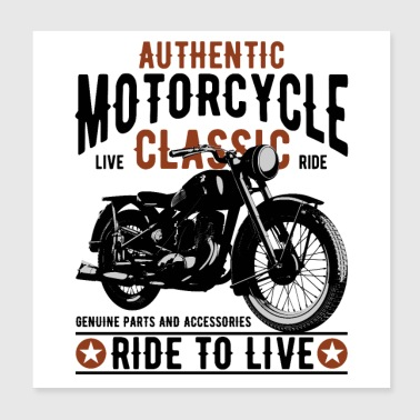 motorcycle - Poster 8x8