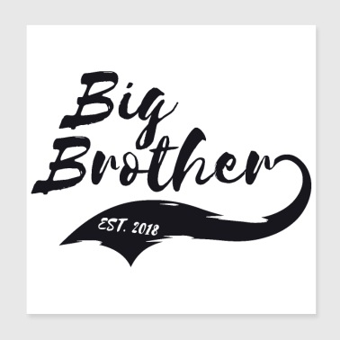 shop big bro wall art online spreadshirt