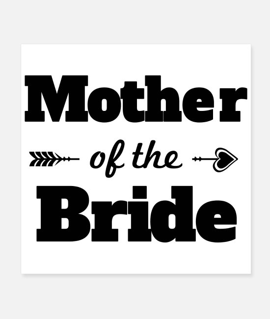 Maid Of Honor Posters - Bachelorette party wedding mother of the bride - Posters white