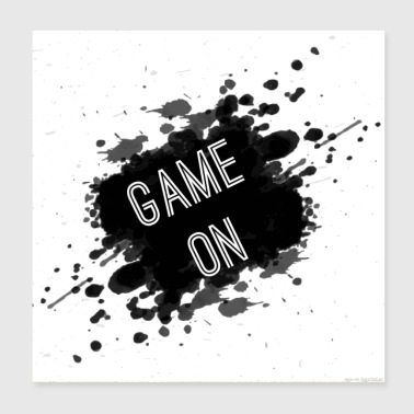 Game On - Poster 8x8