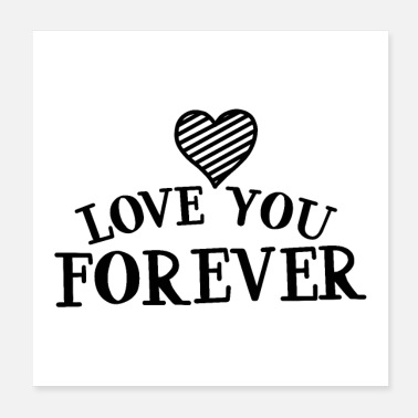 Love Heart love you forever 01 - Poster
