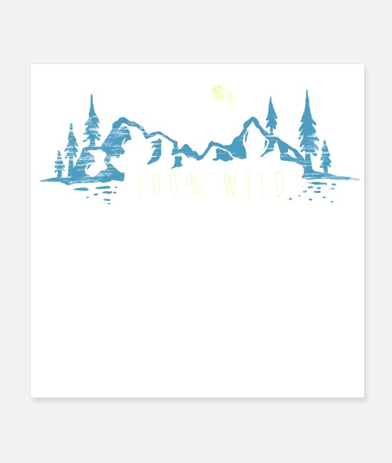 Mountains Posters - Wild Ride - Posters white