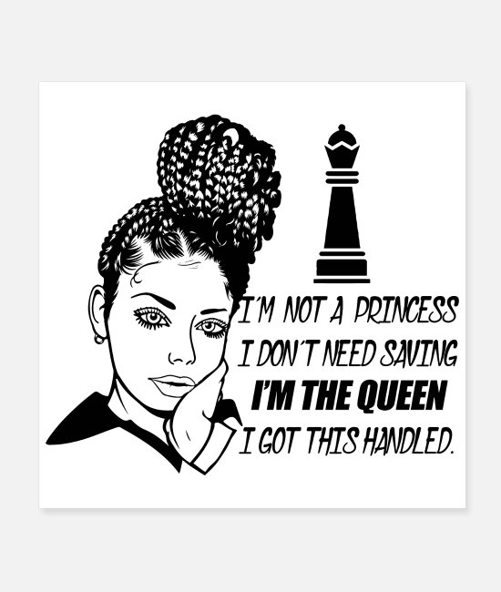 Diva Posters - Woman Life Quotes Diva Queen Classy lady Make Up - Posters white