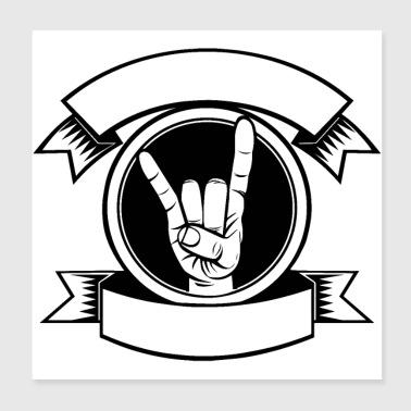 Shop Rock And Roll Wall Art online   Spreadshirt