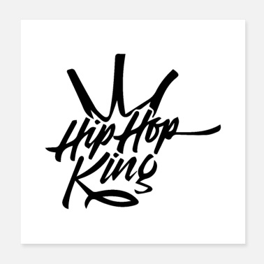 Hip Hip Hop king - Poster