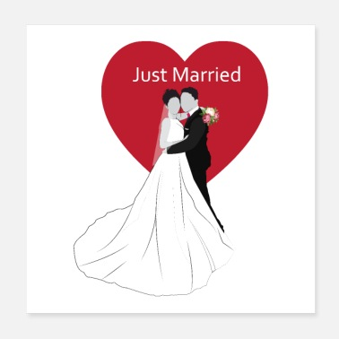 Marry just married - Poster
