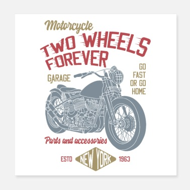 Forever TWO WHEELS FOREVER - Poster