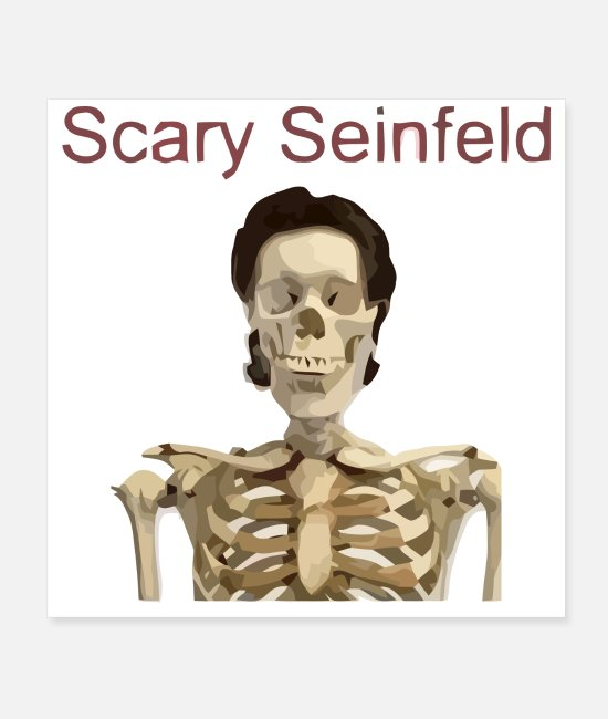 TV Posters - Scary Seinfeld - Posters white
