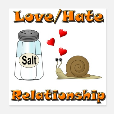 Relationship Love Hate Relationship - Poster