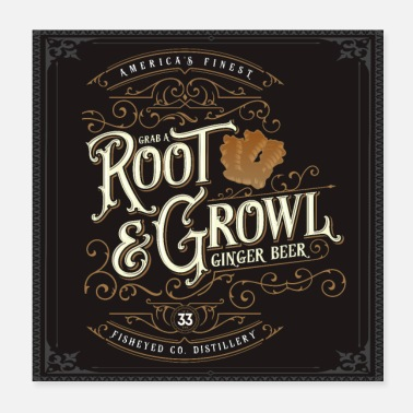 Southern Grab A Root & Growl - Poster