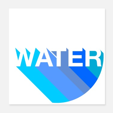 Water water - Poster