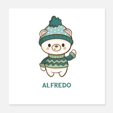 Characters ALFREDO Christmas character - Poster