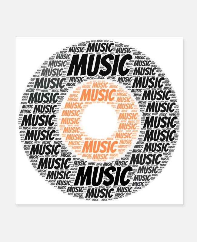 Learning Posters - Music | Presents - Posters white