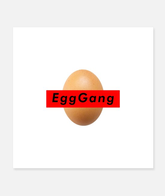 Eggshell Posters - World Record Egg Gang - Posters white