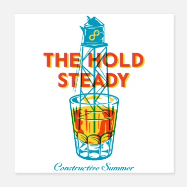 The Hold Steady - Poster