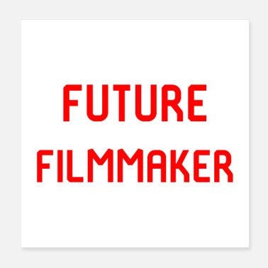 Film Crew Future Filmmaker Film School Design - Poster