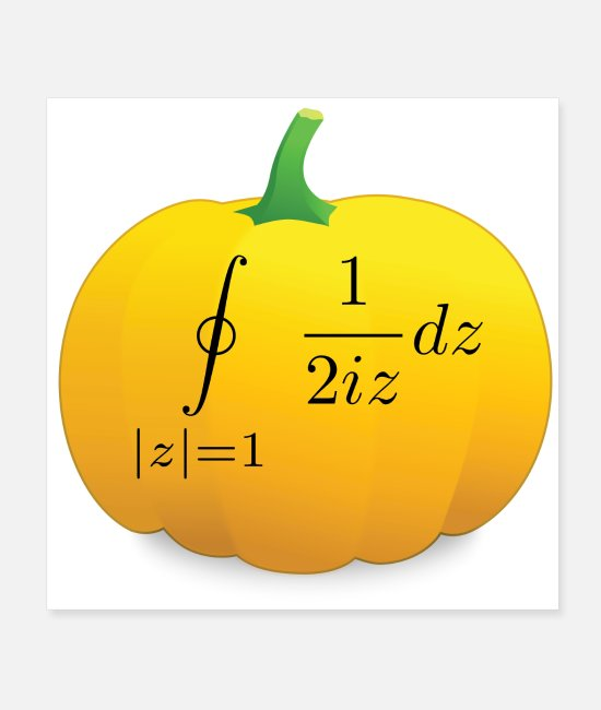 Maths Posters - Pumpkin Pi - Posters white