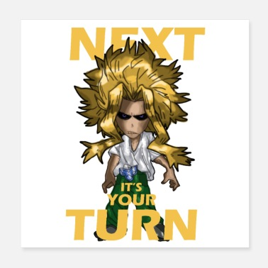 Turn all might Turn - Poster