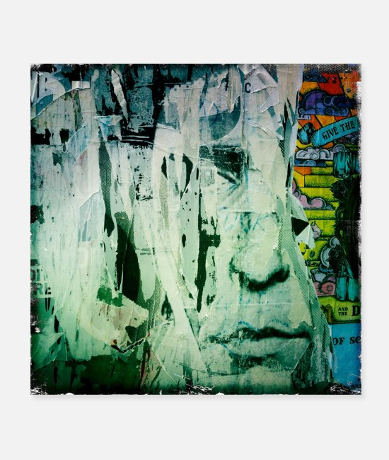 Urban Art Posters - streetart london bricklane 10 eu - Posters white