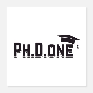 Diploma Ph.D. Done Gift - Poster