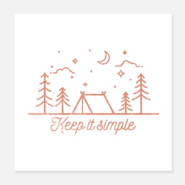 Outback Keep It Simple Gift - Poster