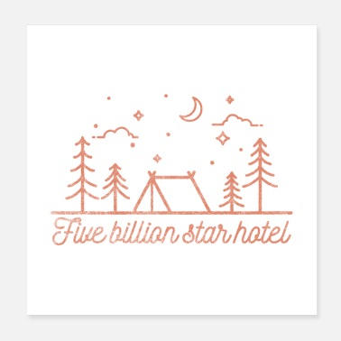 Wilderness Five Billion Star Hotel Gift - Poster