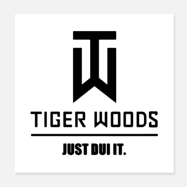Golf TigerWoods Merchandise - Poster