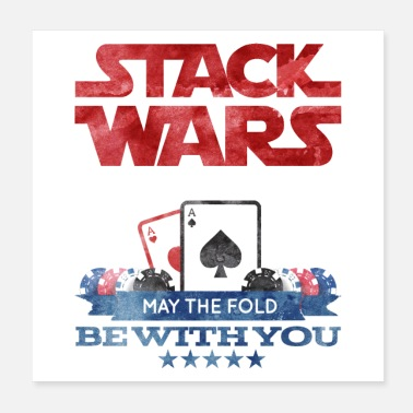 Poker Poker Wars - May the fold be with you - Poster