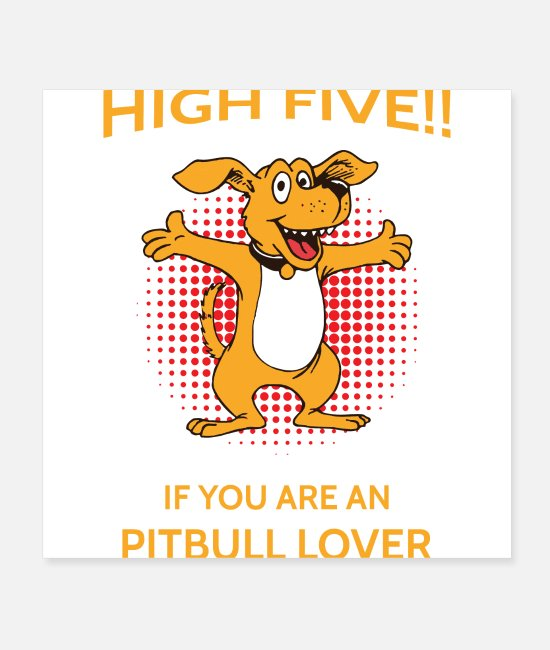 Lover Posters - Pitbull lover - Posters white