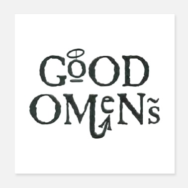 Ineffable Good Omens - Poster
