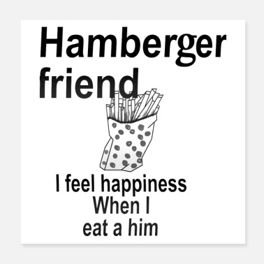 Friends Hamberger friend - Poster