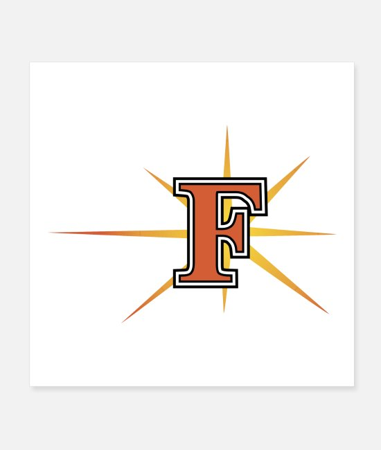 Team Logo Posters - Frederick Keys - Posters white