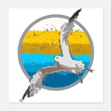 Baltic Sea Seagull by the sea - Poster