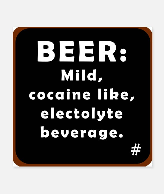 Cocain Posters - Beer - Posters white