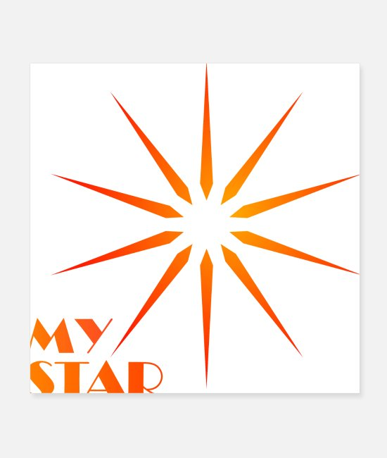 Insignia Posters - my star - Posters white