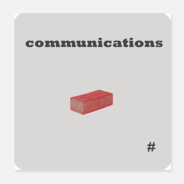 Communism Communications - Poster