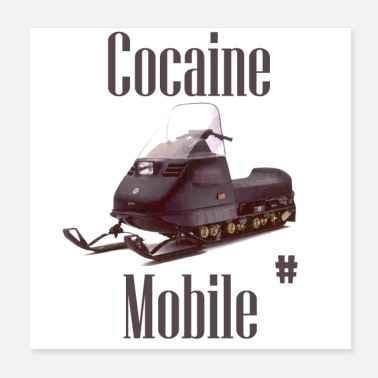 Cocain Cocaine Mobile - Poster