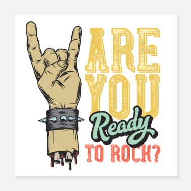 Rock Are You Ready To Rock Hard Rock Music Festival - Poster