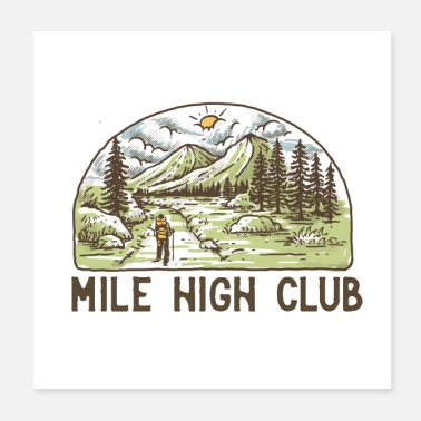 Mile High Club - Poster