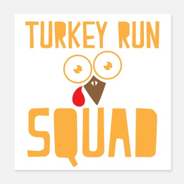 Turkey Turkey run squad - Poster
