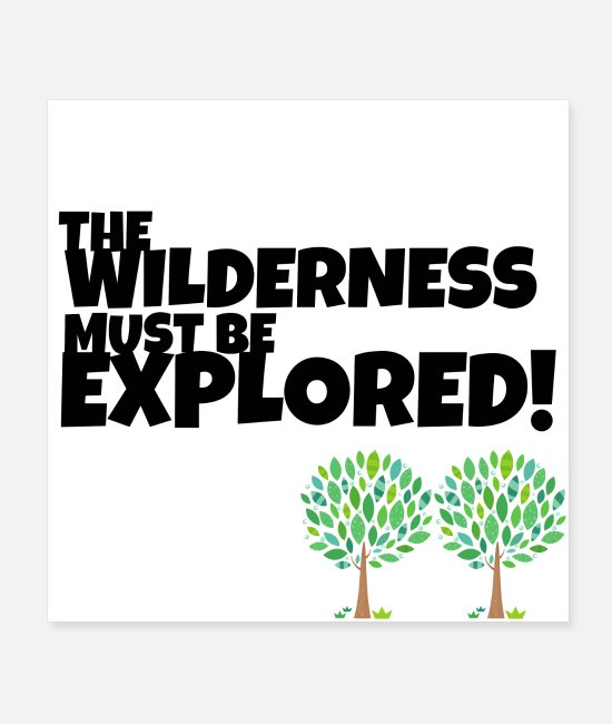 Nature Posters - Explore the Wilderness - Posters white
