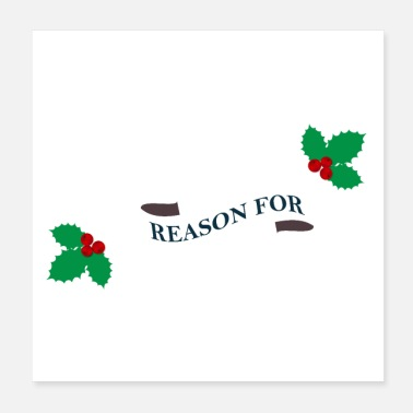 Season Jesus is the reason for the season - Poster