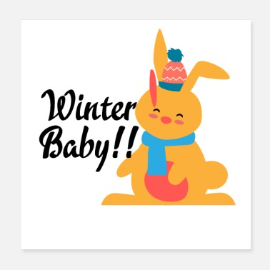 Baby Girl WINTER BABY - Poster
