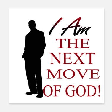 Faith I Am The Next Move of God (M) - Poster