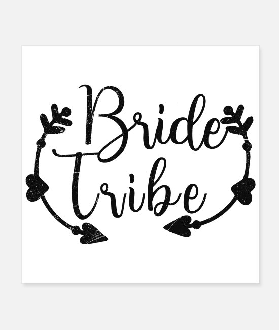 Maid Of Honor Posters - Bachelorette Party Wedding Bride Tribe Gift Idea - Posters white